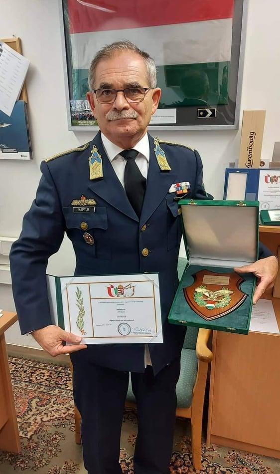 Elismerőrő kitüntetésben részesült Kaptur József polgármester úr