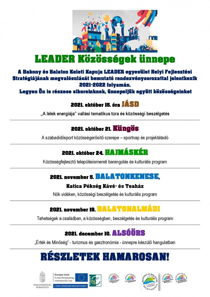 LEADER közösségek ünnepe