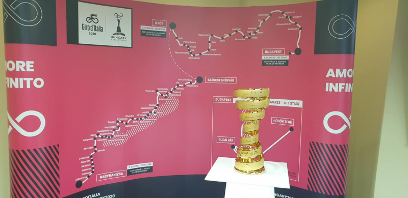 Giro d'Italia 2020 Magyarországon
