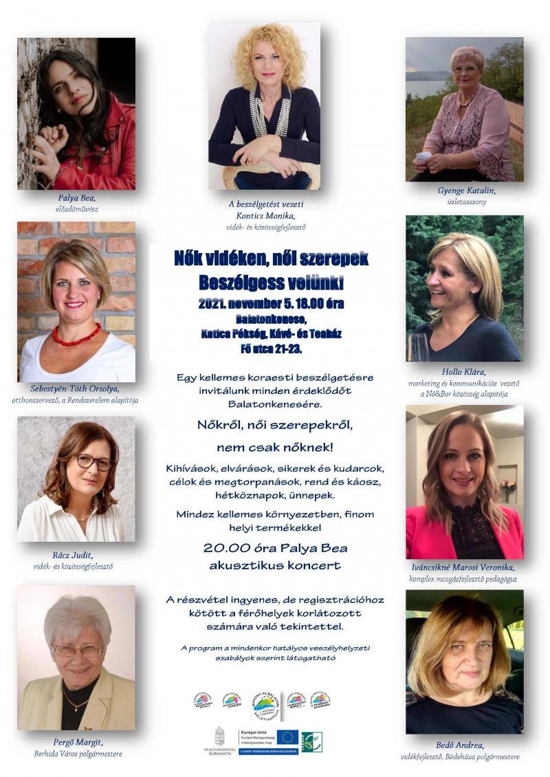 Nők vidéken, női szerepek - LEADER közösségek ünnepe