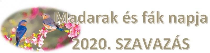 Madarak és fák napja 2020  - Szavazás