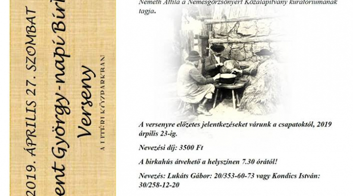 XIX. Szent György-napi Birkafőző Verseny A LITÉRI KÖZPARKBAN