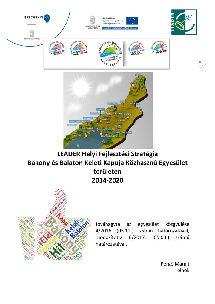 Helyi Fejlesztési Stratégia 2.0 (hatályos 2017.05.03)